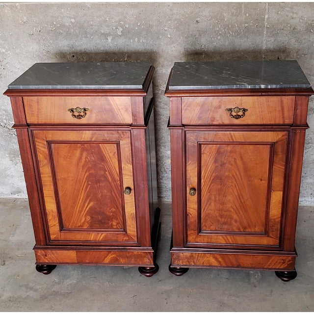 A wonderful antique 1840s Louis Phillippe period French Country confit cabinet with beautifully aged patina. Originally...