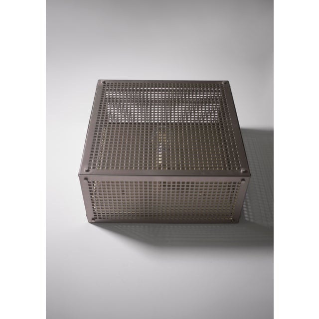 Orphan Work Modern Contemporary 001 Flush Mount in Nickel by Orphan Work For Sale - Image 4 of 10
