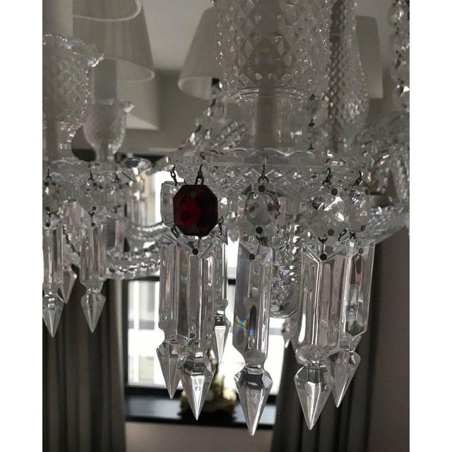 Contemporary Baccarat Zenith Eight-Light Chandelier For Sale - Image 3 of 9