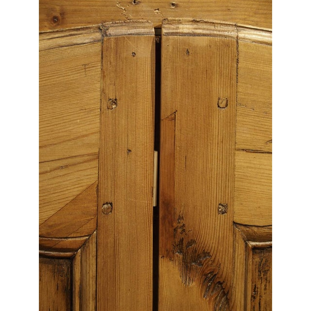 Camel Mid 19th Century Antique French Pine Cabinet Doors For Sale - Image 8 of 12