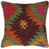 "Image of Rug & Relic Kilim Pillow | 16"" For Sale"