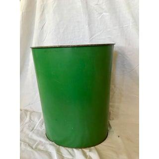 Green Antique Car Waste Basket Preview