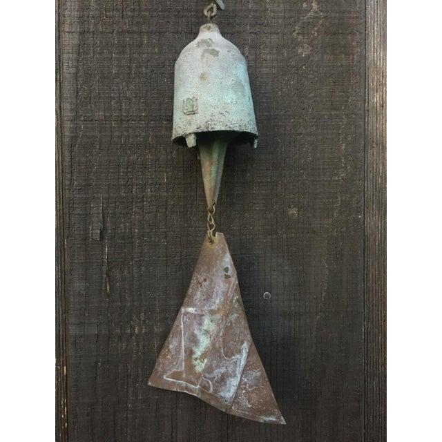 Paolo Soleri Bronze & Copper Fin Wind Bell - Image 6 of 11