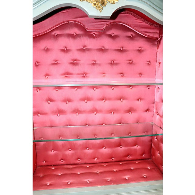 French Louis XV Style Secretary Desk For Sale - Image 10 of 12