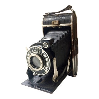 Vintage 1930s Balda Juwella Folding Camera For Sale