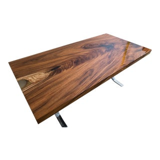 Acacia Wood Dining Table For Sale