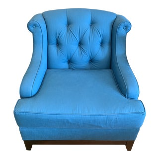 Mama Gene Tufted Club Chair For Sale