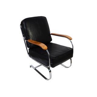Kem Weber for Lloyd Loom Springer Lounge Chair Rocker For Sale