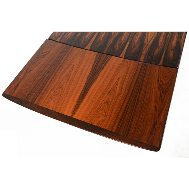 Brazilian Rosewood Draw Leaf Dining Table - Image 10 of 11