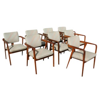 Vintage Herman Miller Chairs - Set of 8 For Sale