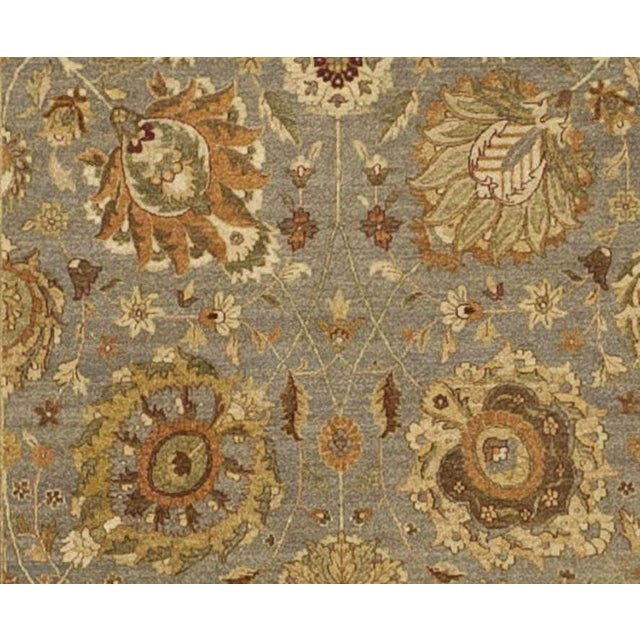 """Hand Knotted Indian Rug - 10'x 14'5"""" For Sale - Image 4 of 7"""