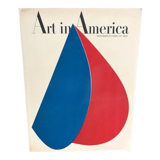1967 Mid-Century 'Art in America' Art Journal