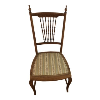 1920s Antique Victorian Children's Chair For Sale