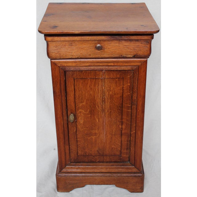 Small chest with one drawer and cupboard below, France, circa 1840. Perfect addition for your home!