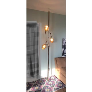 Mid-Century Modern 1960 Tension Pole Floor to Ceiling Light Preview