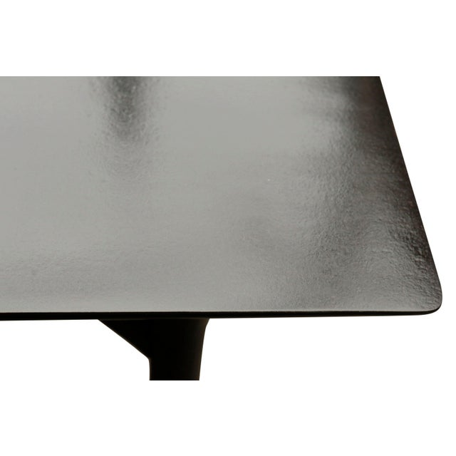 Beautiful design of mid century take coffee table with skinny legs crossing the table I have somewhere but can be...