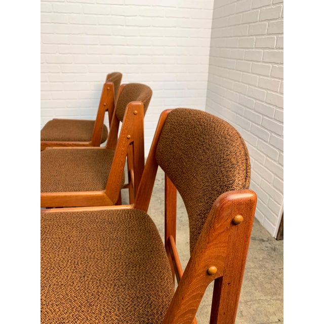 Wood Danish Modern Dining Chairs by Artfurn, Denmark For Sale - Image 7 of 13