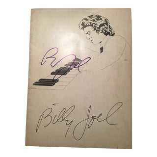 Billy Joel Autographed 1977 Tour Program For Sale