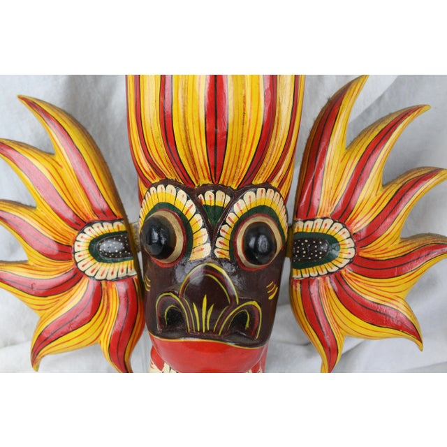 Vintage Asian Dragon Mask For Sale In New York - Image 6 of 8