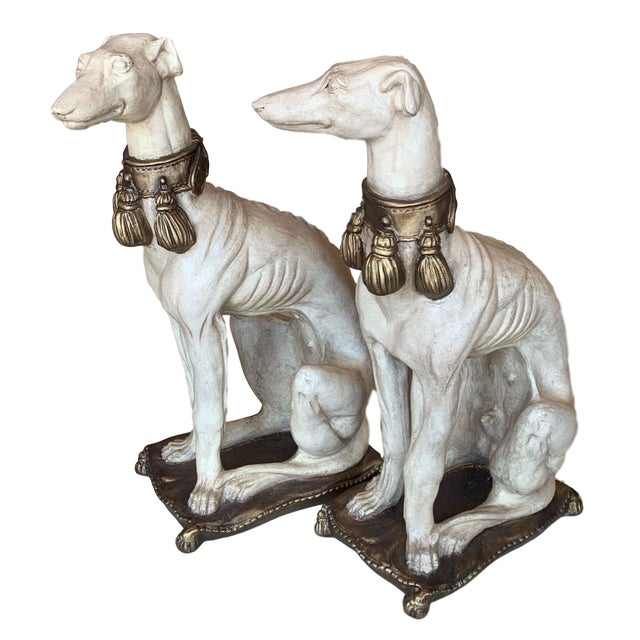 Vintage Mid Century Greyhound Mascots Models- A Pair For Sale - Image 13 of 13