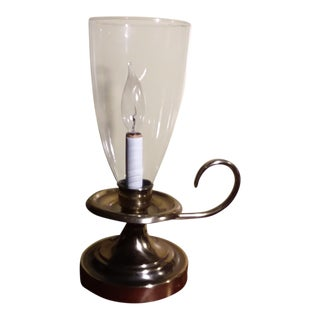 12th Brass Candle Lamp