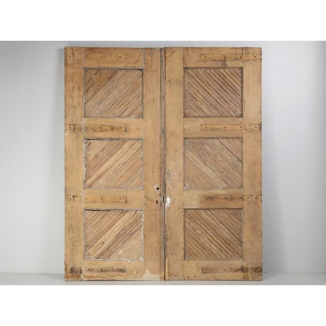 1890s Antique American Barn or Garage Doors For Sale - Image 12 of 13