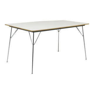 1950s Mid-Century Modern Herman Miller Eames Dtm-10 Dining Table For Sale