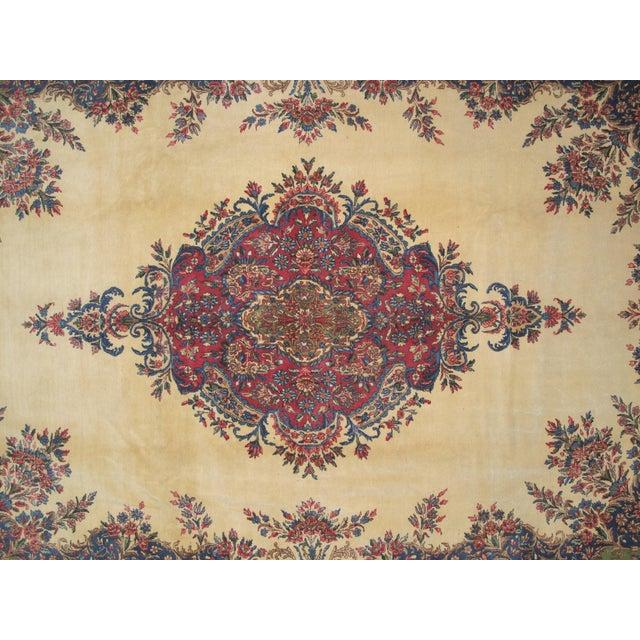"""Lavar Kerman Carpet - 9'6"""" X 13'5"""" - Image 4 of 7"""