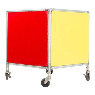 1950's Henry P. Glass Storage Cube For Sale