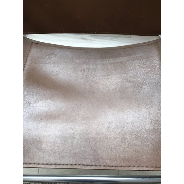 Vintage Wassily Brown Leather Chair - Image 7 of 10