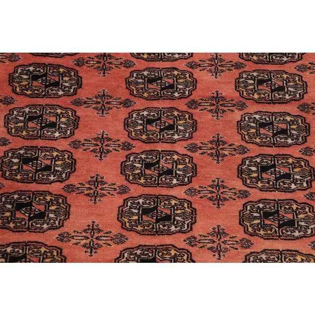 Bokara Arya Leon Rose & Black Wool Rug - 9'4 X 11'11 For Sale - Image 4 of 9