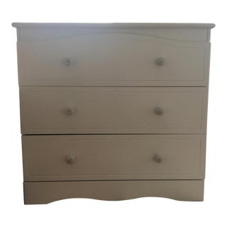 Parisian Style White Chest of Drawers For Sale
