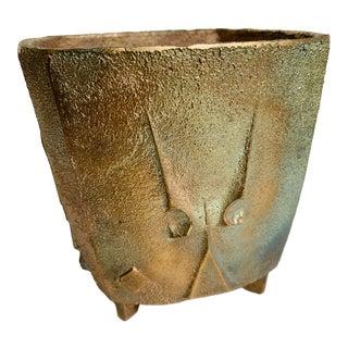 Paolo Soleri Bell Windchime Arcosanti Sculpture Vase Pot For Sale