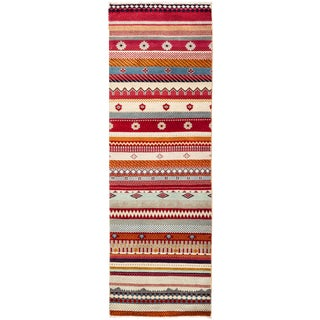 """Lori Hand Knotted Runner - 2'1"""" X 6'4"""" For Sale"""