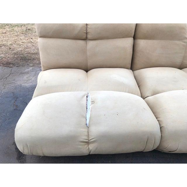 1970s Vintaeg Mario Bellini Camaleonda Style Modular Sofa For Sale - Image 12 of 13