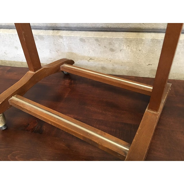 Mid 20th Century Italian Cherry Valet Stand Dressboy in the Manner of Fratelli Reguitti, 1960s For Sale - Image 5 of 13