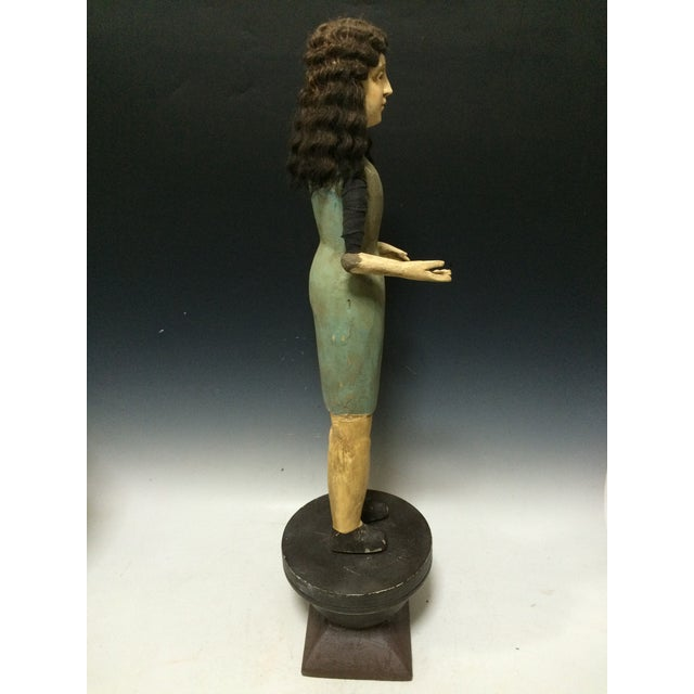 Handcarved Wood Articulated Female Mannequin For Sale - Image 5 of 11