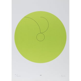 "Max Bill, Constellations Xv"", Geometric Lithograph For Sale"