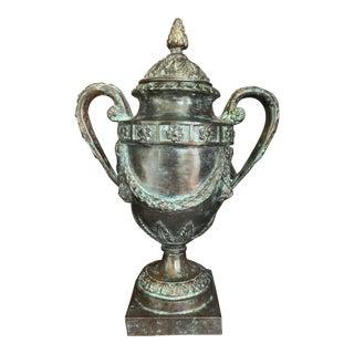 Maitland Smith Bronze Urn For Sale