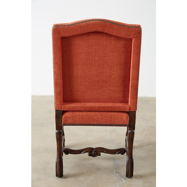 Set of Sixteen French Os De Mouton Style Dining Chairs For Sale - Image 12 of 13