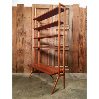 Kurt Ostervig Danish Teak Adjustable Bookshelf and Room Divider Preview