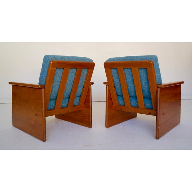 Danish Modern Vintage Tarm Stole Teak Lounge Chairs - A Pair For Sale - Image 3 of 10