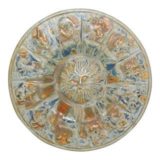 1970s Vintage Ceramic Zodiac Dish For Sale