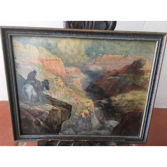 Vintage Framed Grand Canyon Western Print - Image 3 of 6