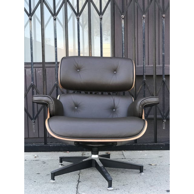 Mid Century Style Lounge Chair and Ottoman For Sale In Los Angeles - Image 6 of 13