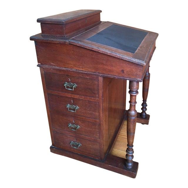 1870's English Antique Ship Captain Desk - Image 1 of 8