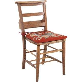 19th Century French School Chairs With Tapestry Cushions - Set of 4 For Sale