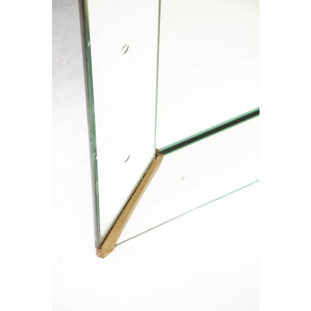 Large Rectangular Venetian Dotted Mirror For Sale - Image 4 of 5