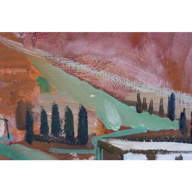 "Bertil Wahlberg ""Sorrento"" Oil Painting - Image 3 of 4"