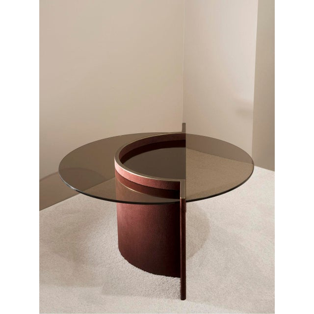 Contemporary Torus Coffee Table, Made by Robert Sukrachand in Usa For Sale - Image 4 of 5